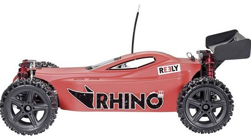 (.) Reely Buggy Rhino II. Brushed 1:10 4WD RC Coche Electrico Rt